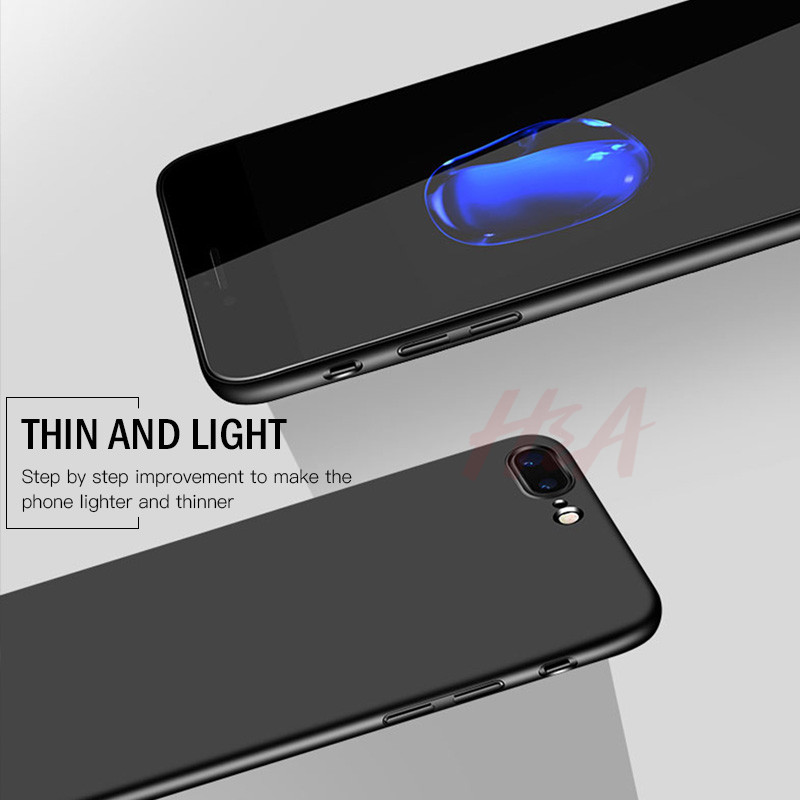 Image 3 - H&A Luxury PC Phone Case For iPhone X 6 6s 8 7 Plus Ultra Thin Slim Cover For iPhone 7 8 6 6s Plus X Protective Hard Cases Shell-in Phone Bumpers from Cellphones & Telecommunications