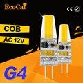 Низкая цена СИД G4 12 В COB G4 лампы ac dc затемнения 3 Вт 6 Вт 9 Вт Lamparas номера регулируемой яркостью 1 Вт 24 Светодиодов G4 свет