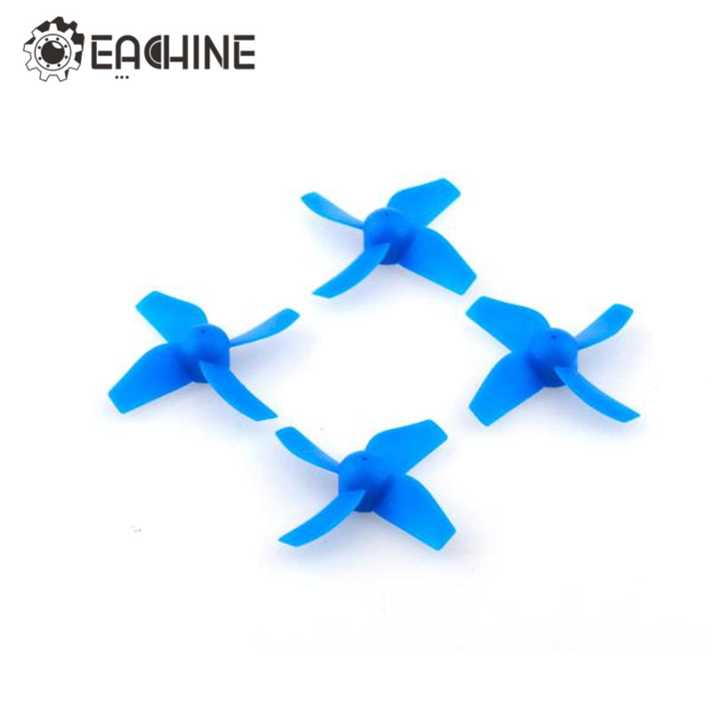 New Blue Red 4Pcs Eachine E011 E011-06 RC Quadcopter Spare Parts 4 Blade CW CCW Propeller For RC Quadcopter Drone Model