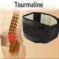 Turmalina Terapia Magnética Auto-aquecimento Cinto de Suporte lombar Ajustável Cintos de Proteção Térmica Lombar Brace Duplo Banded S-XL