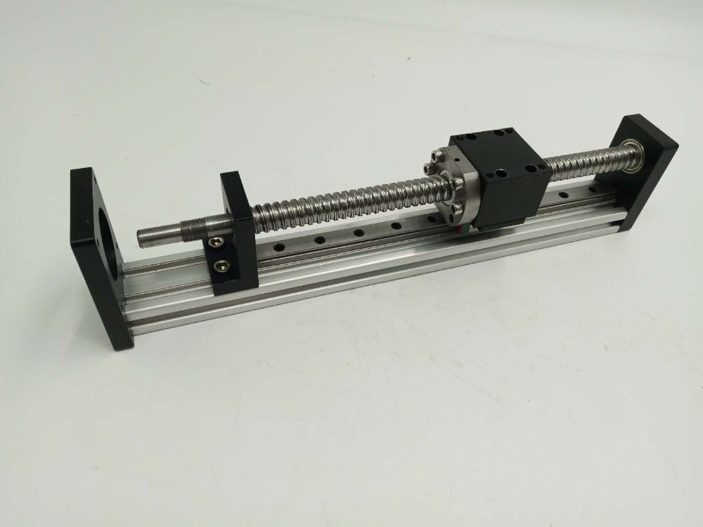 CNC Sliding Table L600mm Cross Slide Milling Linear Stage SFU1605 for XYZ Axis