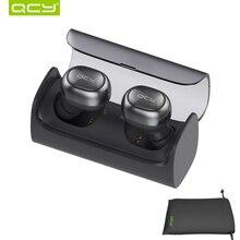 QCY беспроводной bluetooth Q29 бизнес 3D стерео наушники зарядки автоматически наушники и чехол для airpods iphone 6 7