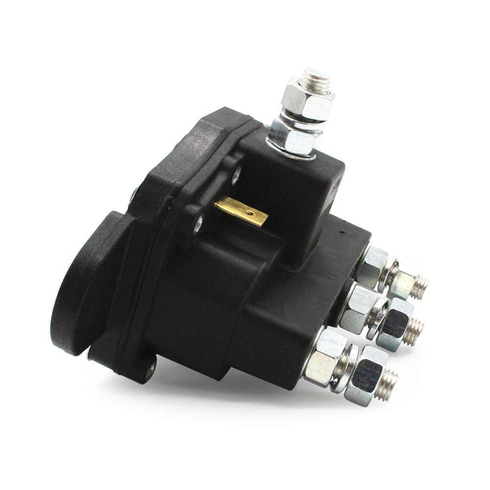 medium resolution of  5 16 24 threaded studs 6 terminals 12v reversing polarity contactor relay winch