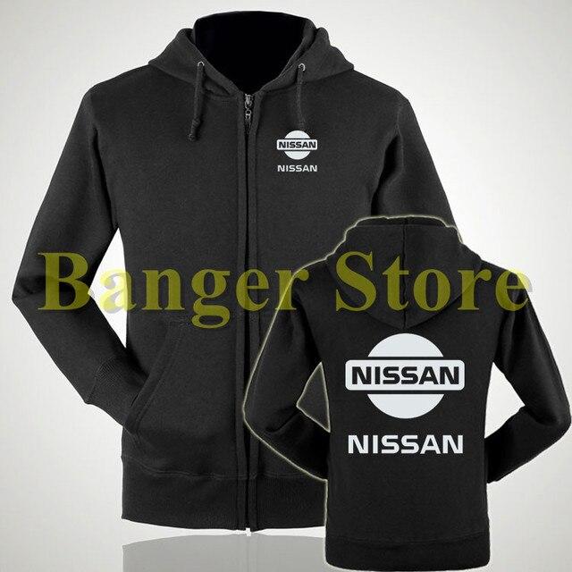 e3c83b2213e38c 2 styles Dongfeng Nissan logo 4S boutique avant et arrière côté peint épais  velours sweat à