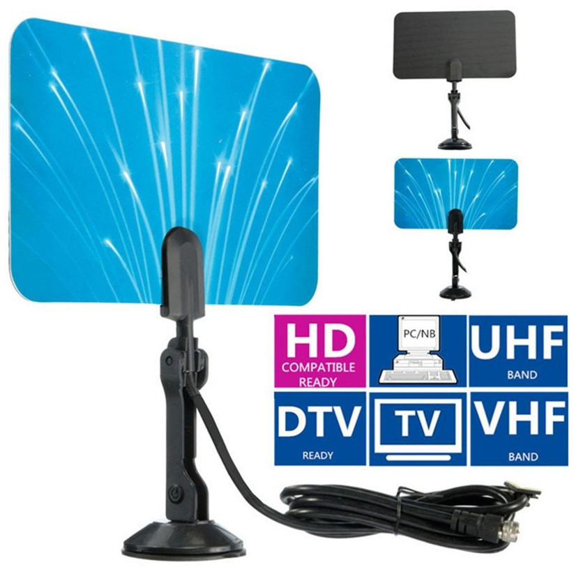CARPRIE Antenna TV Digitale Indoor Antenne TV HDTV DTV Box HD Ready VHF UHF Appartamento di Design td1208 Dropship