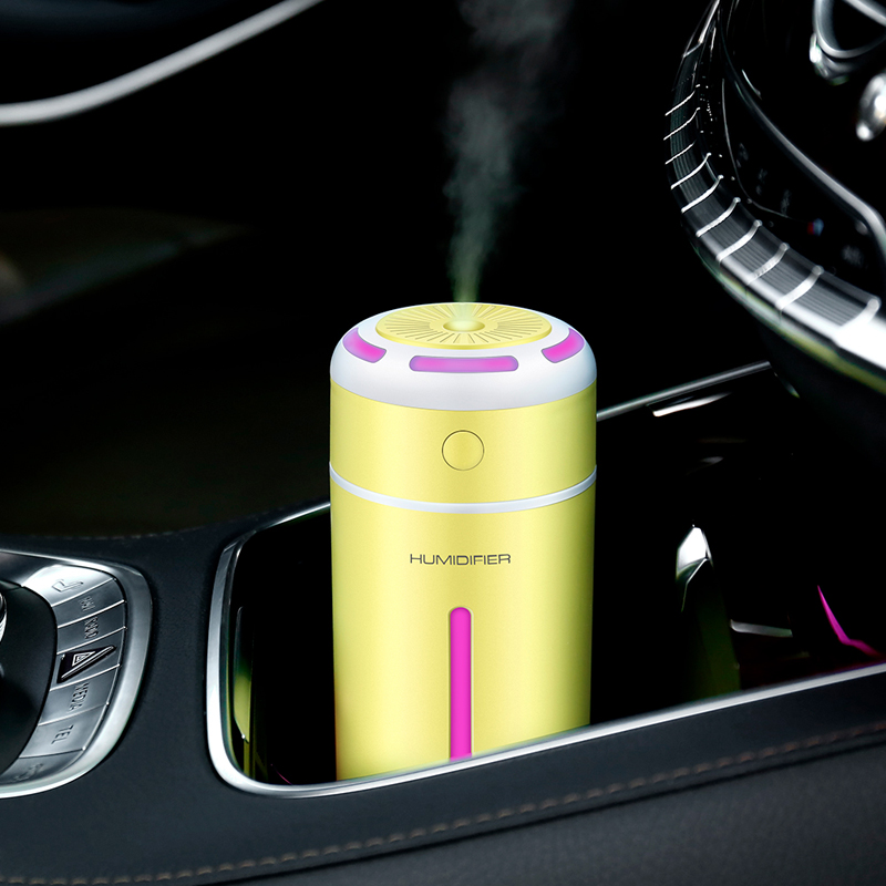 Automobiles & Motorcycles Air Freshener Creative Mini Square D Humidifier Essential Oil Diffuser Aroma Lamp Led Night Light Usb Aromatherapy Car Air Freshener Fogger
