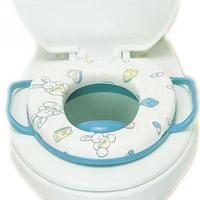 Colorido dos desenhos animados do bebê espessamento tampa de assento macio cadeira de criança de bebê Potty assento fica fácil na existente