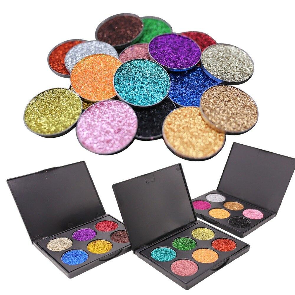 12 Colors 3D Baked Eye Shadow Palette Shimmer Glitter