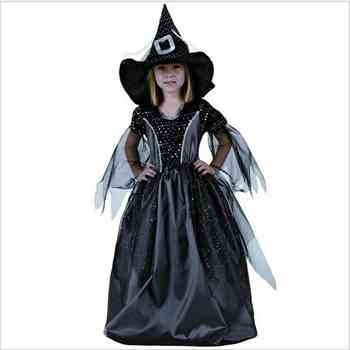 Small Witch Costume Halloween Girl Party Clothes Black Witch Cosplay Dark Witch Dress Anime Couture Paladin Pointed Cap - DISCOUNT ITEM  30% OFF All Category