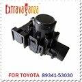 2 unids 89341-53030-C0 89341-53030 Sensor de Aparcamiento Por Ultrasonidos Para Toyota GSE30 Negro Color