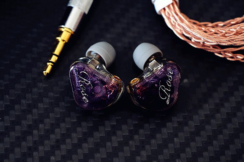 2017 Rose 3D-7 In Ear Earphone 1DD With 1BA Hybrid Drive Unit HIFI Monitor DJ Hifi Music Custom Made Headset MMCX Interface new senfer xba 6in1 2ba 1dd in ear earphone hybrid 3 driver unit hifi earplhones with mmcx interface free shipping