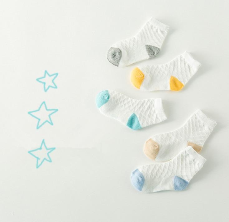 5 palë / lot Sorape të shkurtra për fëmijë 1-10 vjet Sorape - Veshje për fëmijë