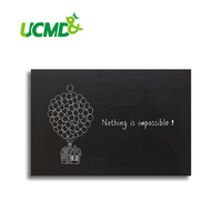 Decorative Magnetic Chalk Black Writing Board Blackboard Stickers 60 X 40 Cm