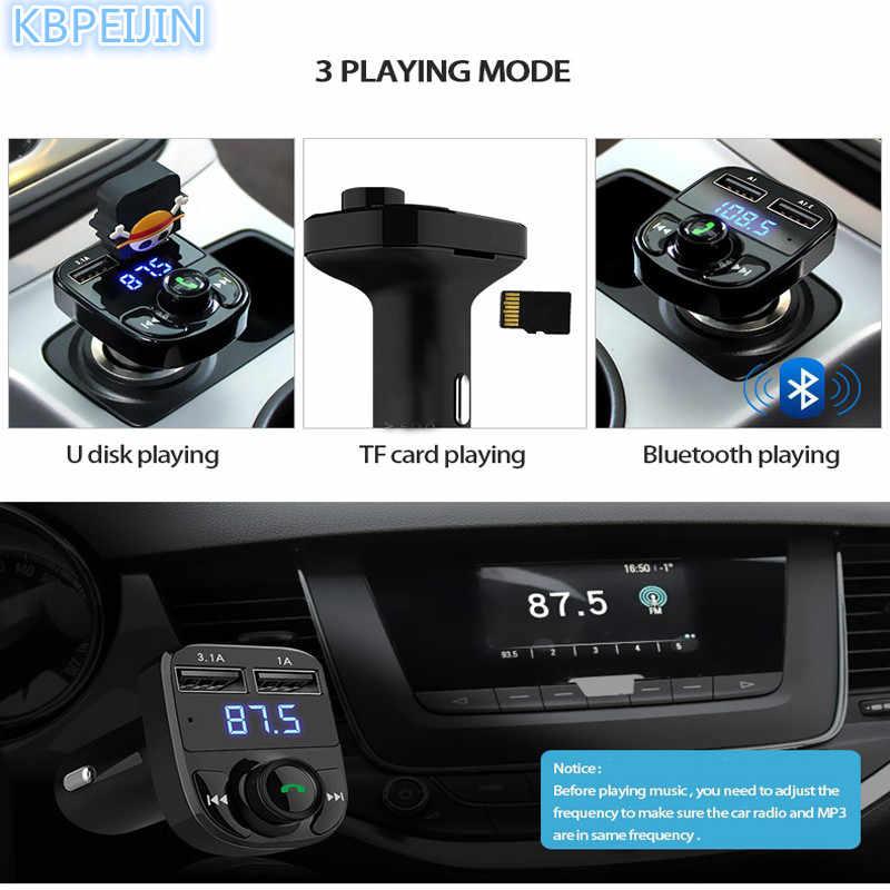 Carro-estilo do carro 5 v 4.1a carregador usb duplo apoio tf cartão 1g-32g mp3 player de música para audi a4 a3 q5 q7 a5 b6 b8 a6 c5 b7 c6