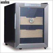 Xeoleo сигары хьюмидор увлажнения кабинет 33L Электрический Коробка Для Хранения Сигар термостатический и постоянная влажность сигары увлажняющий