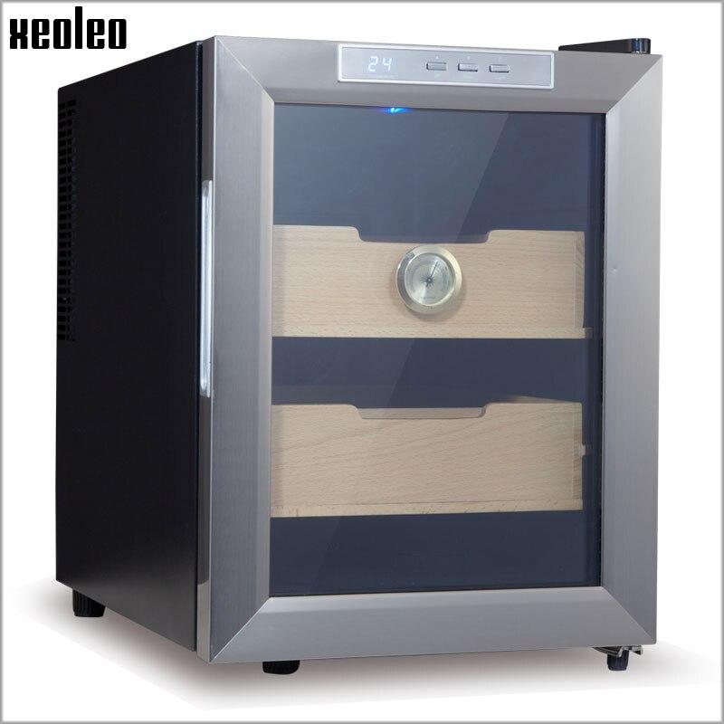 Xeoleo Cigar humidor humidificador gabinete 33L cigarro eléctrico almacenamiento termostático y constante humedad hidratante cigarro