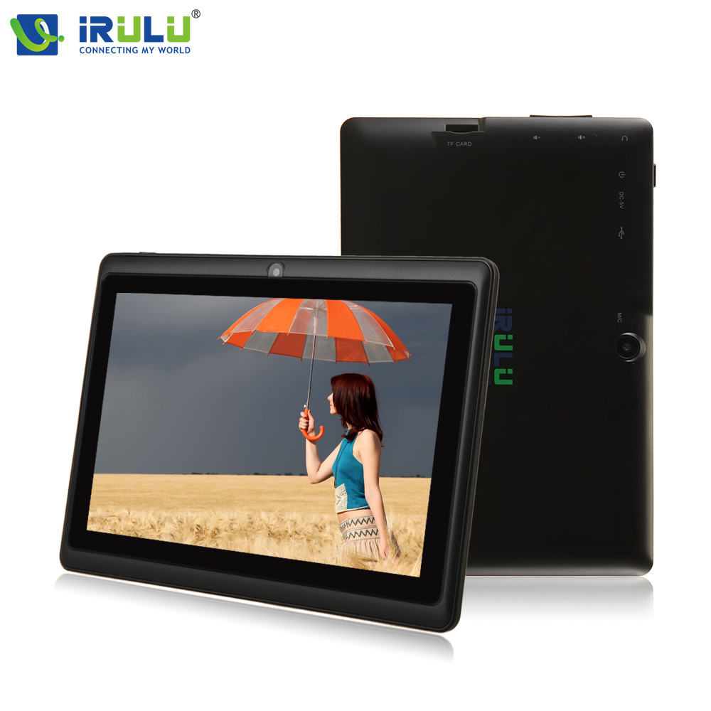 ФОТО Original iRULU eXpro X1 7'' Android 4.4 Tablet PC Quad Core 8G ROM 1024*600 HD Computer with EN Keyboard Case New Hot Selling
