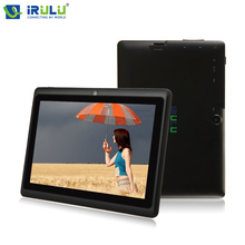 """Original iRULU eXpro X1 7"""" Android 4.4 Tablet PC Quad Core 8G ROM 1024*600 HD Computer with EN Keyboard Case New Hot Selling"""