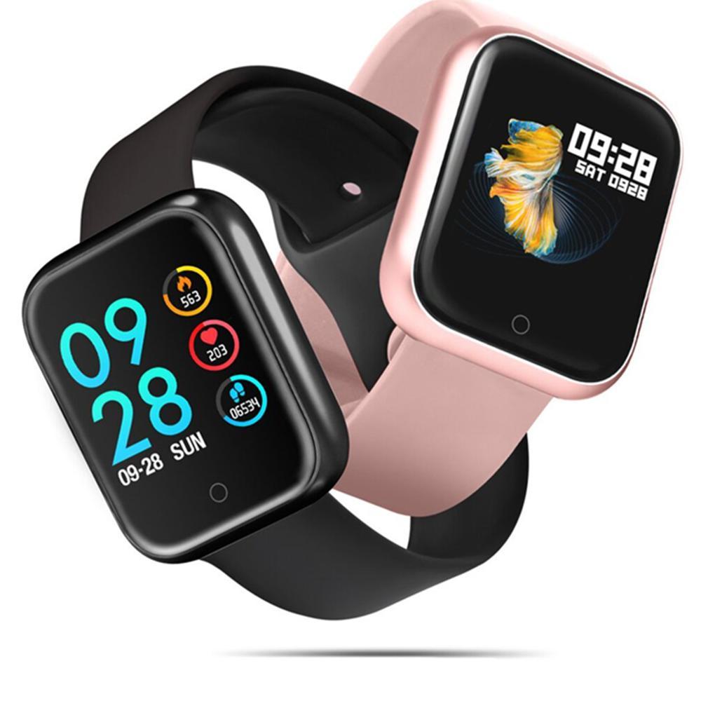 Mulheres Moda Ip68 P70 Relógio Inteligente À Prova D' Água Freqüência Cardíaca Pressão Arterial Para Iphone Homens Do Esporte Da Aptidão Rastreador Smartwatch PK B57