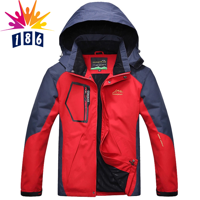 Spring autumn wind and waterproof jacket men casual men's Spring and Autumn thin coat jacket coat size L-5XL