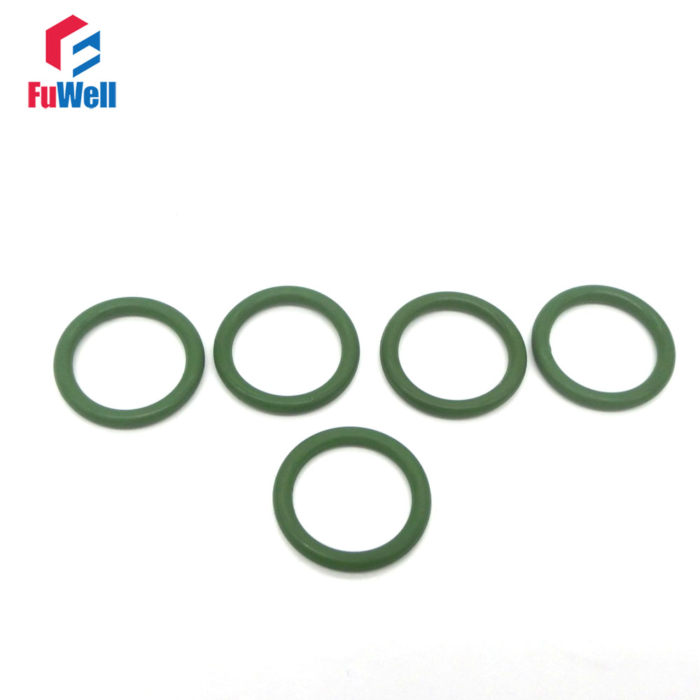 20pcs 3mm Thickness FKM Green O-ring Sealing Gasket 21/22/23/24/25/26/27/28/29/30/31mm OD Viton O Rings Seal Gasket Washer 10pcs lot yt919 ptfe gasket sealing ring washer backup ring 30 39 2 mm free shipping