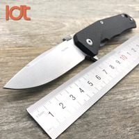 LDT Lion TRE Folding Knife M390 Blade Carbon Fiber Titanium Handle Camping Hunting Survival Knives Tactical