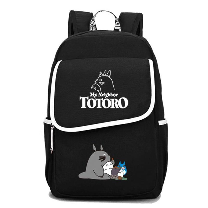 2017 New Arrivals My Neighbor Totoro Printing Women Backpack Cartoon Canvas School Bags Kawaii Totoro Laptop Backpack Travel Bag anime my neighbor totoro cartoon backpack canvas shoulders school bag children schoolbags men women bookbag printing backpack