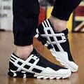 Marca de Luxo Designer de alta Qualidade Homens Sapatos Casuais Formadores Respirável Esporte Cesta de Superstar Sapatos Mens Zapatillas Deportivas