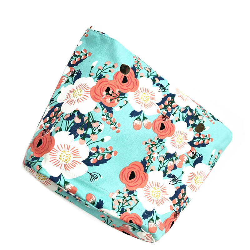 MOGU LVXING obag inner bag for classic size 2018 fashion style italy obag free shipping tanqu tela insert lining for o chic ochic colorful canvas inner pocket waterproof inner pocket for obag