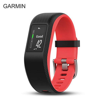 Relogio led Garmin vivosport GPS sports watch fitness heart rate monitor running swimming waterproof smart watch men pk miband 4
