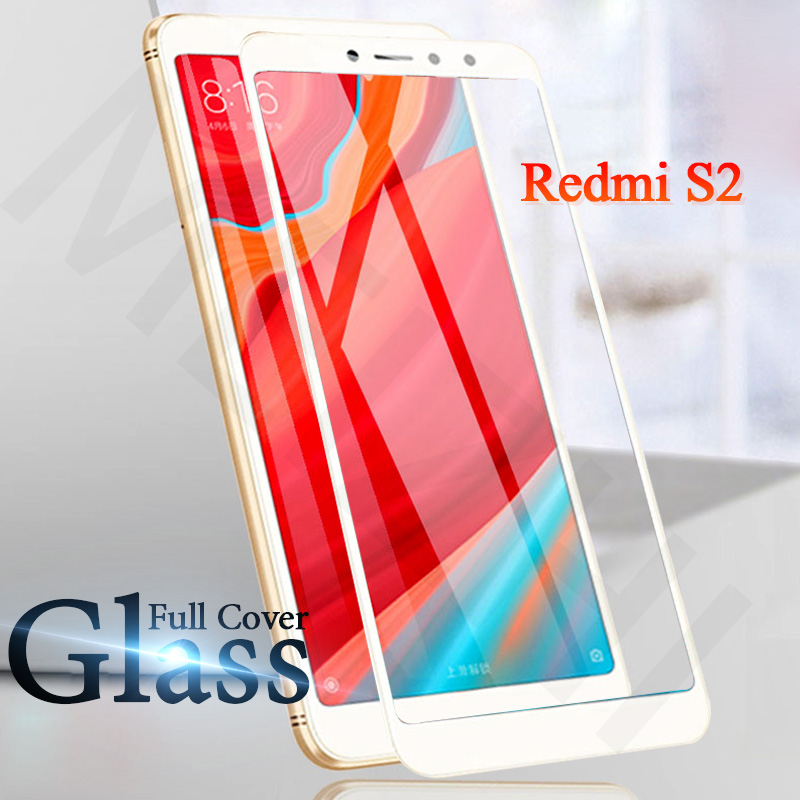 Full Cover Xiaomi Redmi S2 Glass For Xiaomi Redmi S2 S 2 Tempered Glass Case For Xiomi Redmi S2 Global Version ProtectIve Film