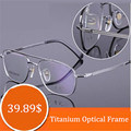 Очки титана очки мужчины оптический очки очки очками очки для деловых людей очки