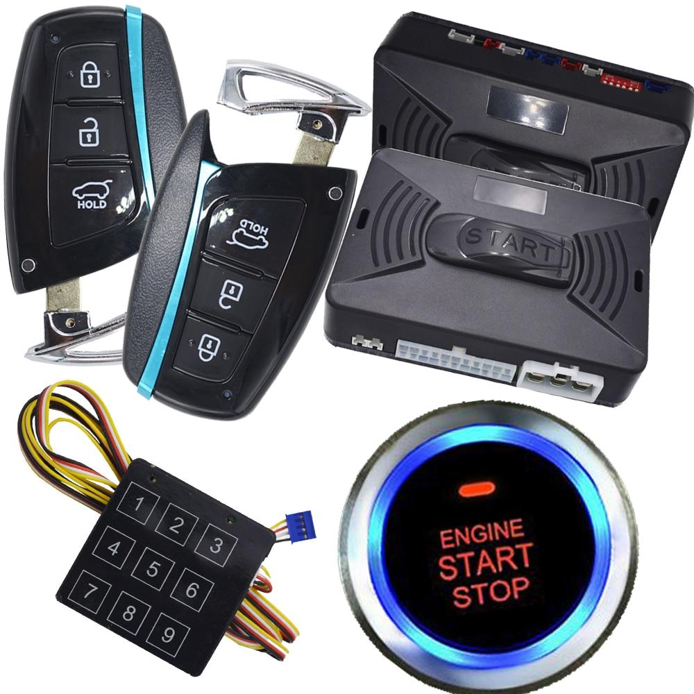 passive car alarm security auto anti rob