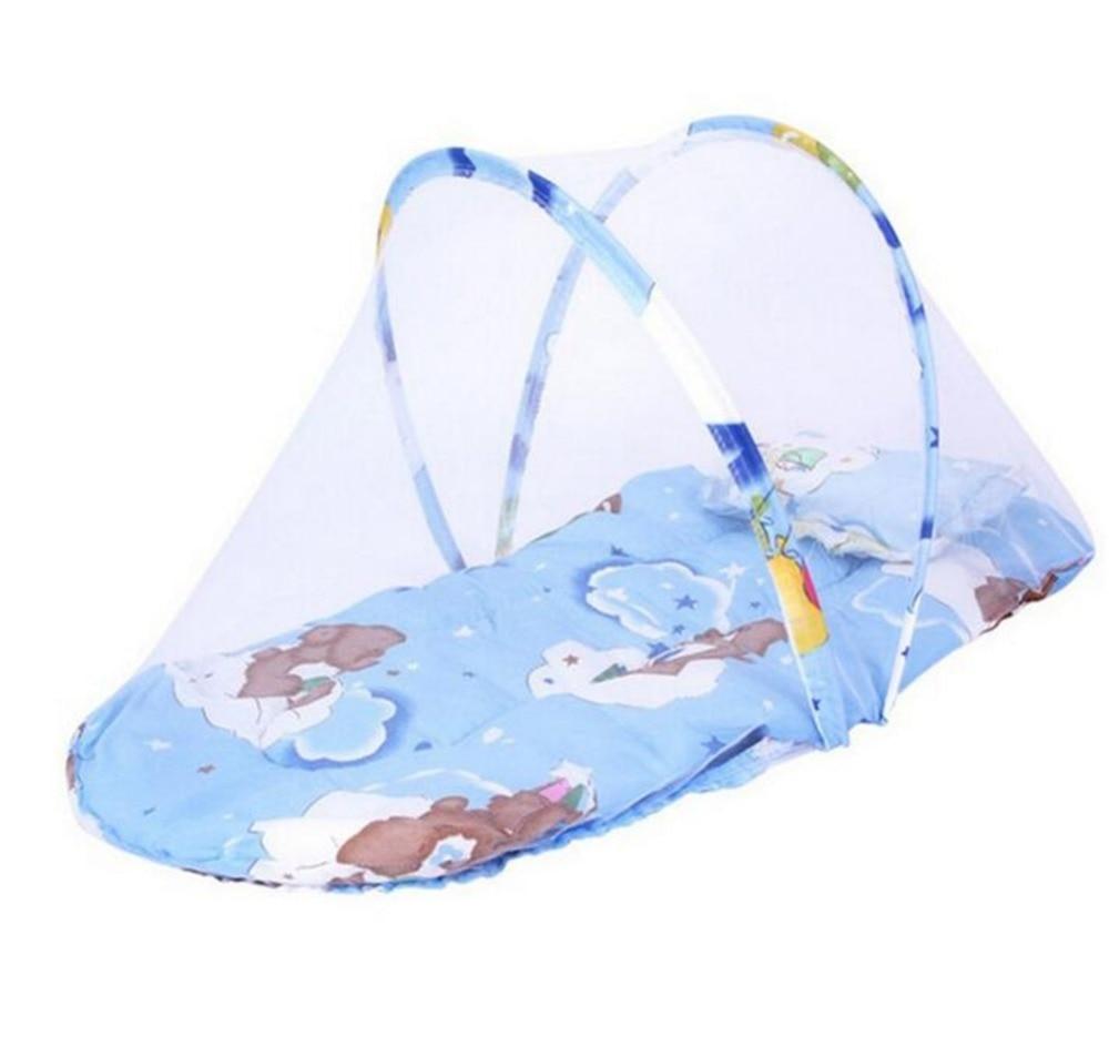 Baby Bed Foldable Baby Crib Tent mosquito net Newborn ...
