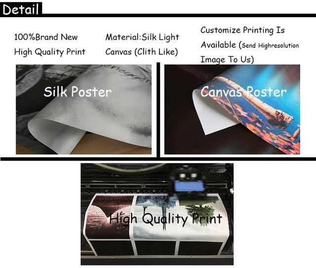 Art Silk Canvas Print Neon Genesis Evangelion Ikari Shinji Ayanami Rei Poster 24×36 Inch Room Decoration-003
