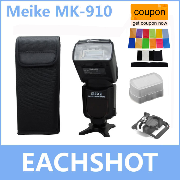 Meike MK-910 MK910 MK 910 i-TTL Flash Speedlight 1/8000s HSS Master for Nikon D7100 D7000 D5300 D5200 D5100 D3200 D3100 D3000 бра bohemia ivele 1600 3 nb