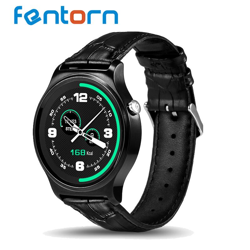 Prix pour Fentorn gw01 smart watch mtk2502 soutien bluetooth chaleur taux podomètre smartwatch pour apple huawei ios android téléphone