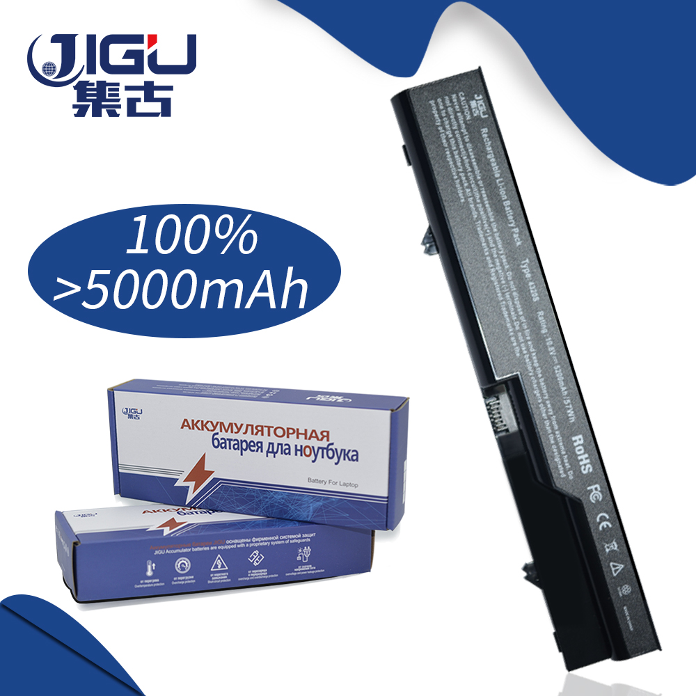 JIGU 6 Cells Laptop Battery For HP ProBook 4320 4325s 4320s 4321 525s 4321s 4520s 4320t 4326s 4420s 4421s 4425s 4520 620 625 jigu new 6 cells laptop battery for lenovo g580 z380 z380am y480 g480 v480 y580 g580am l11s6y01 l11l6y01