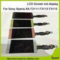 1 шт. белый черный Lemon Green Rose ЖК-дисплей ЖК-дисплей с сенсорным экраном дигитайзер ассамблеи Для Sony Xperia XA F3111 F3113 F3115