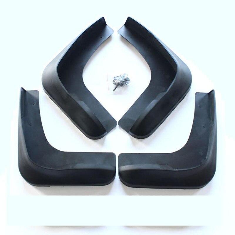 Car styling ABS en plastique Boue Volets Splash Guard fender Pour Mitsubishi Grandis 2005-2010 4 pcs Auto pièces