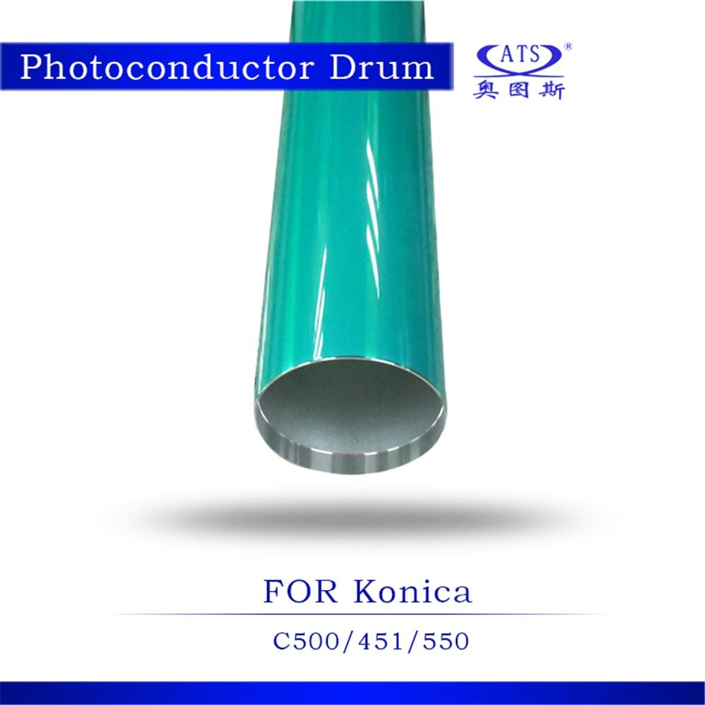 Opc Drum for Konica Minolta C500 550 6500 6550 C500 C8050 New Copier Spare Parts 1Pcs High Quality Photocopy Machine opc drum drum opc drum minolta - title=