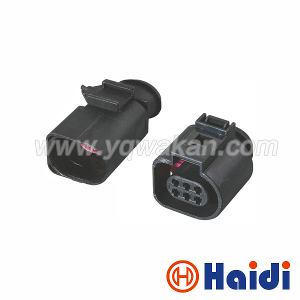 Free shipping 2sets 6Pin 1.5m male female Throttle Valve Control Element VW Audi Skoda connectors 3B0 973 813 1J0 973 713 free shipping 5pairs male and female 2pin 20awg l6 2 2p tamiya 30cm wire connectors