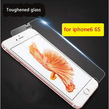 Apple tempered protector glass screen plus iphone for