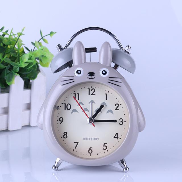 Totoro Alarm Table Clock (3 Colors)