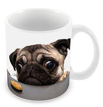 pug mugs dog mug coffee mugs pet lovers Tea ceramic mugen porcelain mug home decal cookie monsters kid funny novelty kid