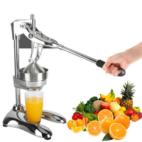 High Quality Stainless Steel Juicer Fruits Squeezer Orange Lemon Manual Juicer Squeezer Citrus Press Commercial Kitchen Tools