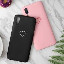 Fashion Love Heart Case For Vivo X6 X7 X9 X9s X Play 5 6 Y53 Y55 Y56 Y66 Y69 Y71 Y75 Y79 Y81 Y83 Y91 Y93 Y97 V11i Plus TPU Cover азазель