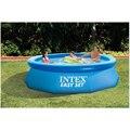 244cm 76cm INTEX blauw AGP bovengronds zwembad familie zwembad opblaasbaar zwembad voor volwassenen kids kind aqua zomer water B33006