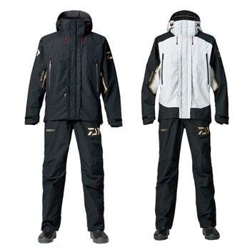 סתיו ארוך שרוול עמיד למים Daiwa דיג בגדים ומכנסיים ג 'רזי חיצוני ספורט חליפת ציד דיג בגדי סטים