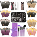 1-20Pcs Professional Makeup Brushes Set Tools Makeup Toiletry Set Eyelash Eyebrow Eyeshadow Lip Foundation Powder Brush